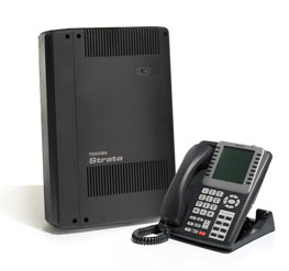 Toshiba Strata CIX 40 Pure IP Telephone System