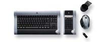 Logitech diNovo Media Desktop Laser - Keyboard and mouse